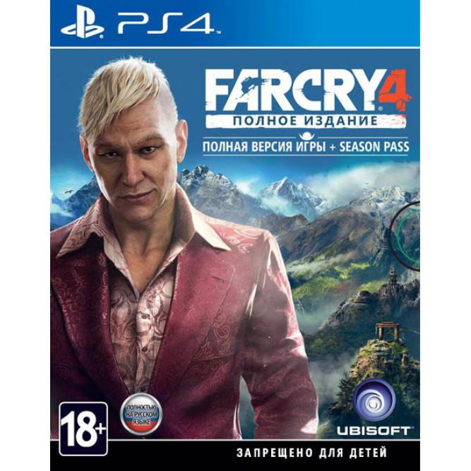Игра Far Cry 4. Полное издание (PS4)