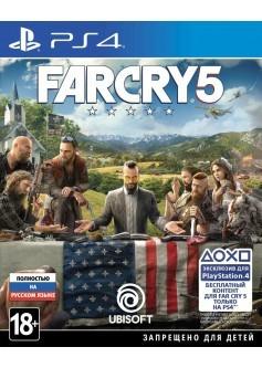 Игра Far Cry 5 (PS4) б/у (rus)