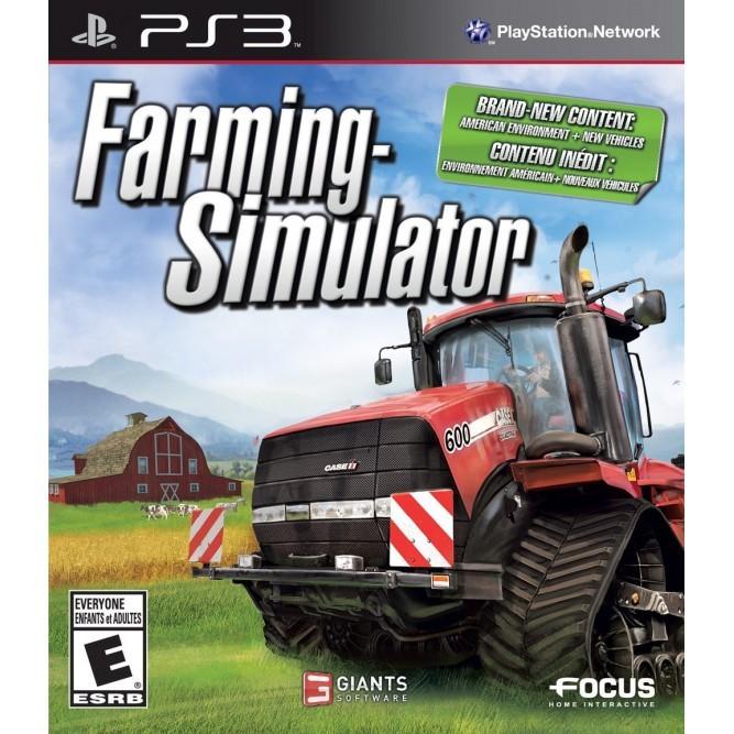 Игра Farming Simulator (PS3) б/у (eng)