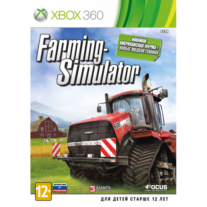 Игра Farming Simulator (Xbox 360) (eng) б/у