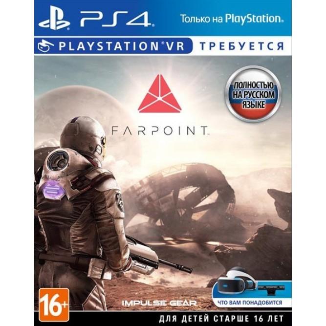 Игра Farpoint (Только для PS VR) (PS4) (rus)