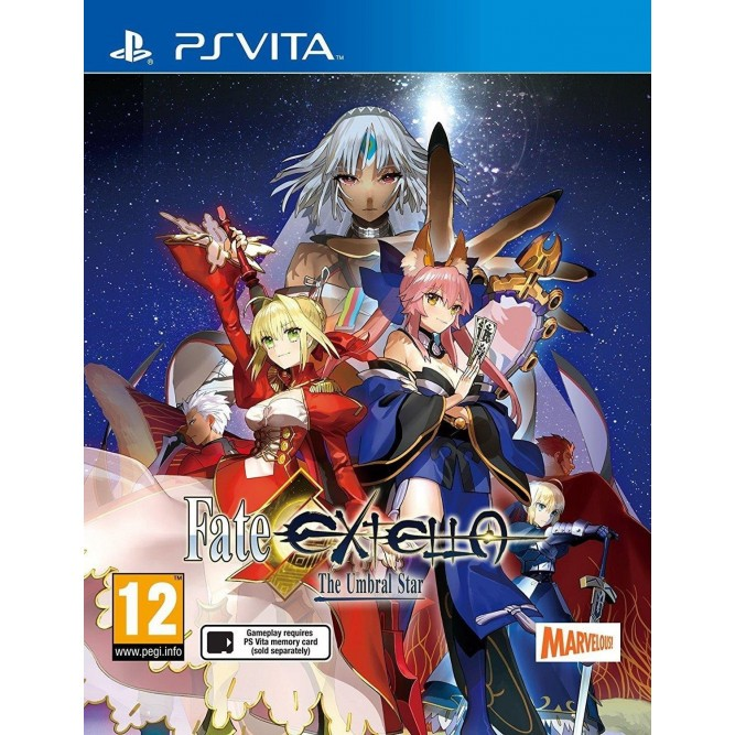 Игра Fate/Extella: The Umbral Star (PS Vita) (eng) б/у