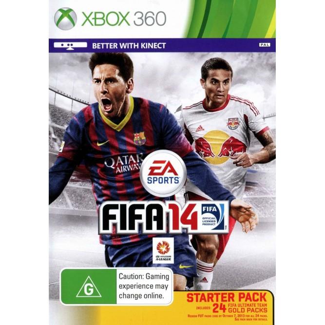 Игра FIFA 14 (Xbox 360) б/у