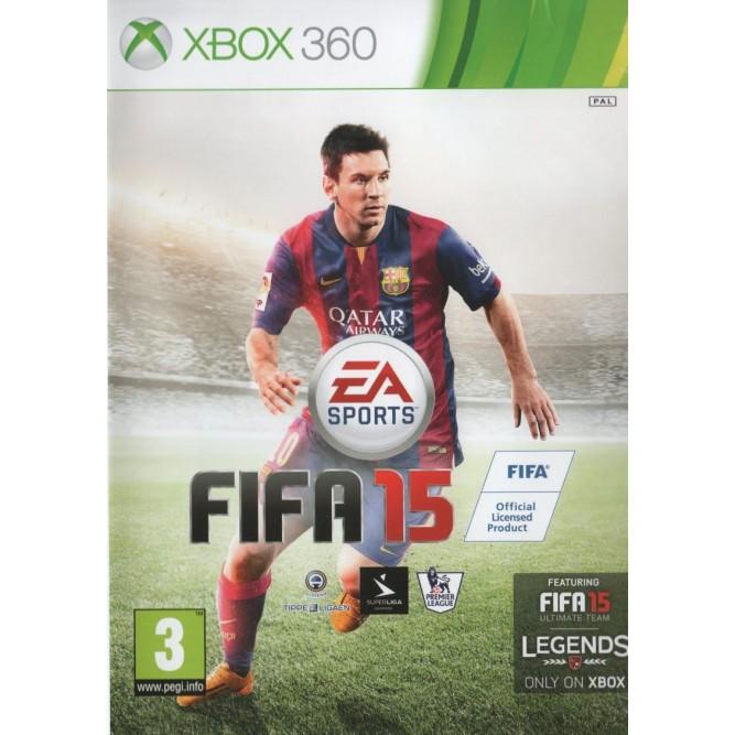 Игра FIFA 15 (Xbox 360) б/у