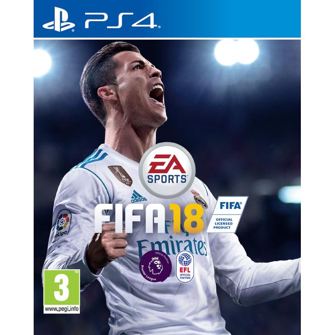 Игра FIFA 18 (PS4) б/у
