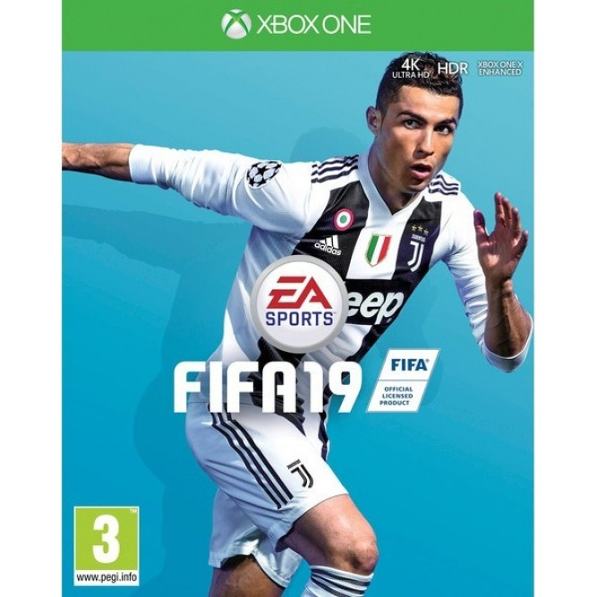 Игра FIFA 19 (Xbox One) б/у (rus)
