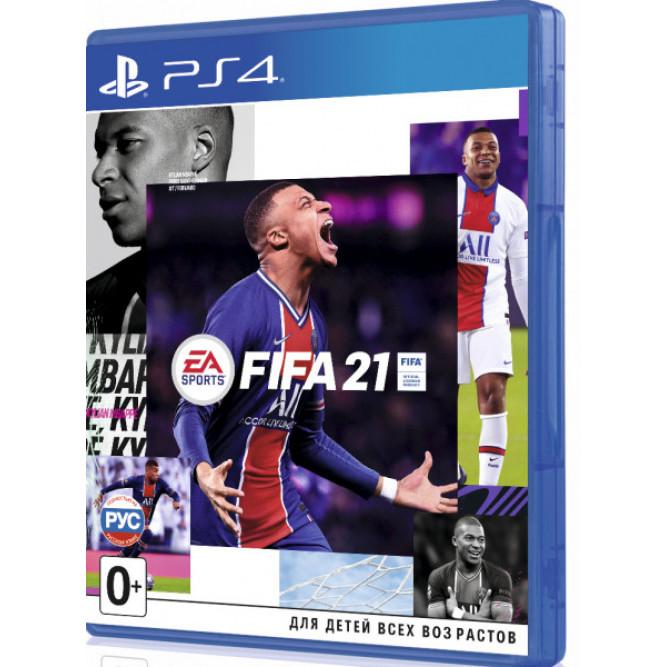 Игра FIFA 21 (PS4) (rus) б/у