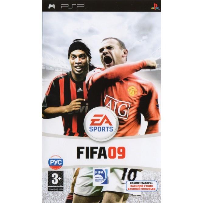 Игра FIFA 09 (PSP) б/у