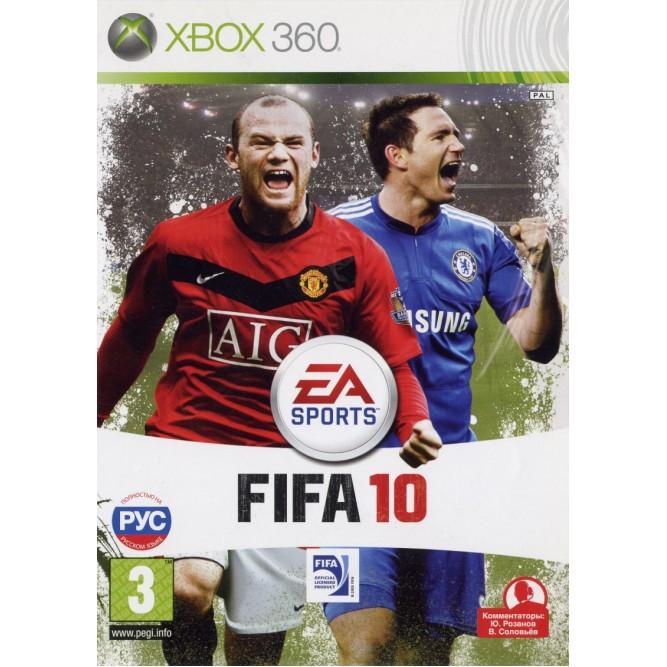 Игра FIFA 10 (Xbox 360) б/у