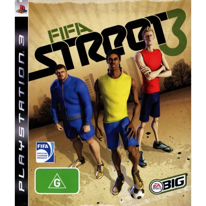 Игра FIFA Street 3 (PS3) б/у