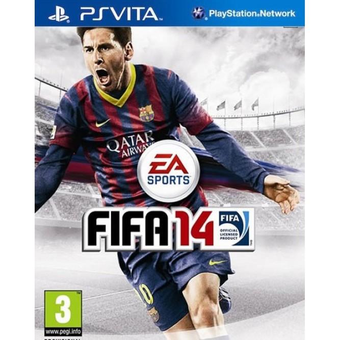 Игра FIFA 14 (PS Vita) б/у