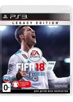 Игра FIFA 18 Legacy Edition (PS3) (rus)