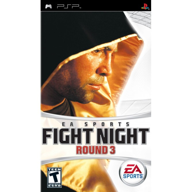Игра Fight Night Round 3 (PSP) б/у (eng)