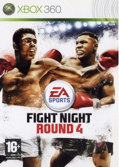 Игра Fight Night Round 4 (Xbox 360) б/у