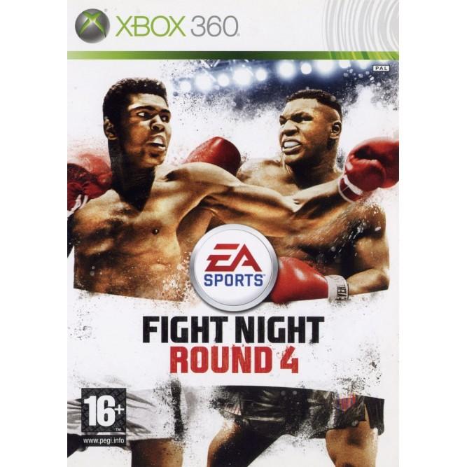 Игра Fight Night Round 4 (Xbox 360) б/у