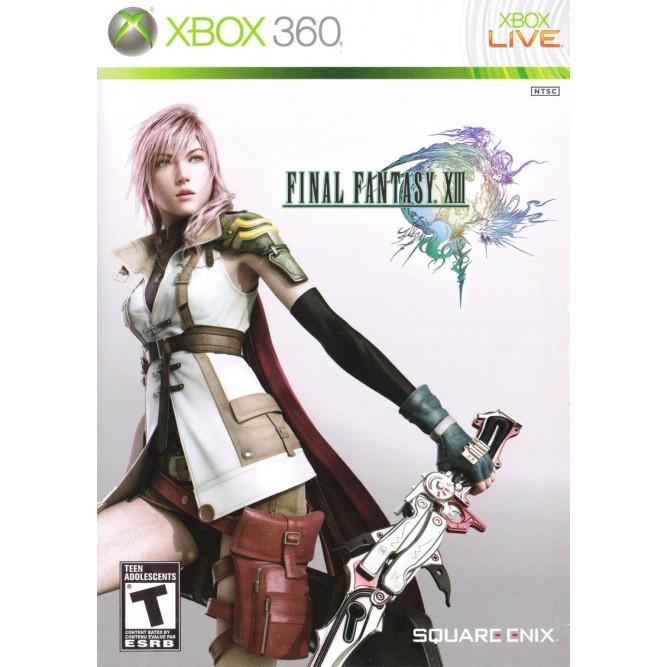 Игра Final Fantasy XIII (Xbox 360) б/у