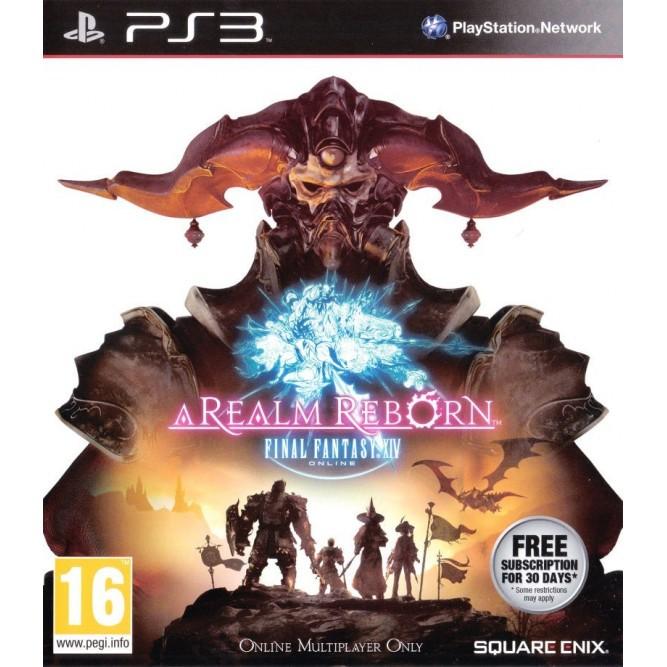 Игра Final Fantasy XIV Online: A Realm Reborn (PS3)
