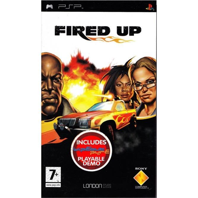 Игра Fired Up (PSP) б/у