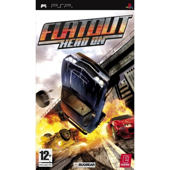 Игра FlatOut: Head On (PSP) б/у (eng)
