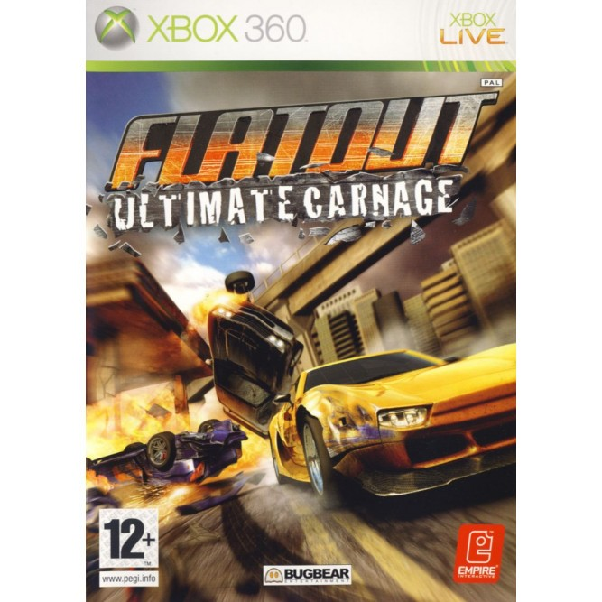Игра Flatout: Ultimate Carnage (Xbox 360) б/у