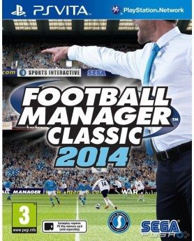 Игра Football Manager Classic 2014 (PS Vita) б/у (rus)