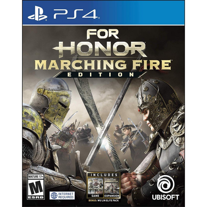 Игра For Honor. Marching Fire Edition (PS4) (eng)
