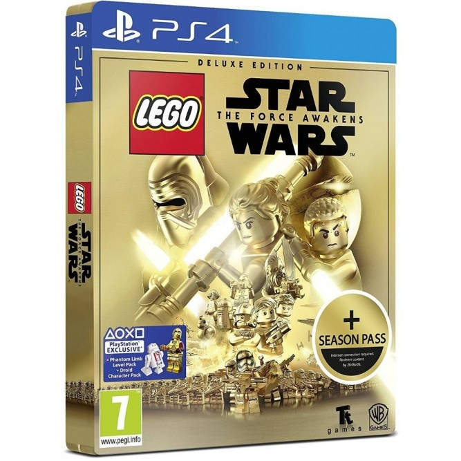 Игра LEGO Star Wars: The Force Awakens (Deluxe Edition) (PS4) (eng)