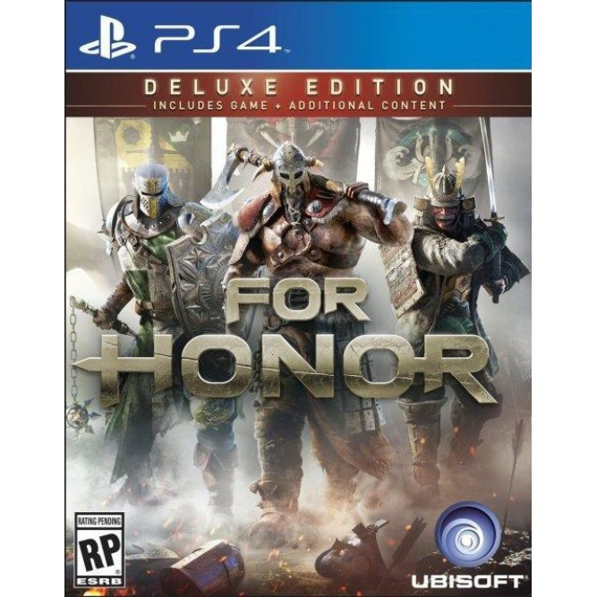 Игра For Honor. Deluxe Edition (PS4) б/у (rus)