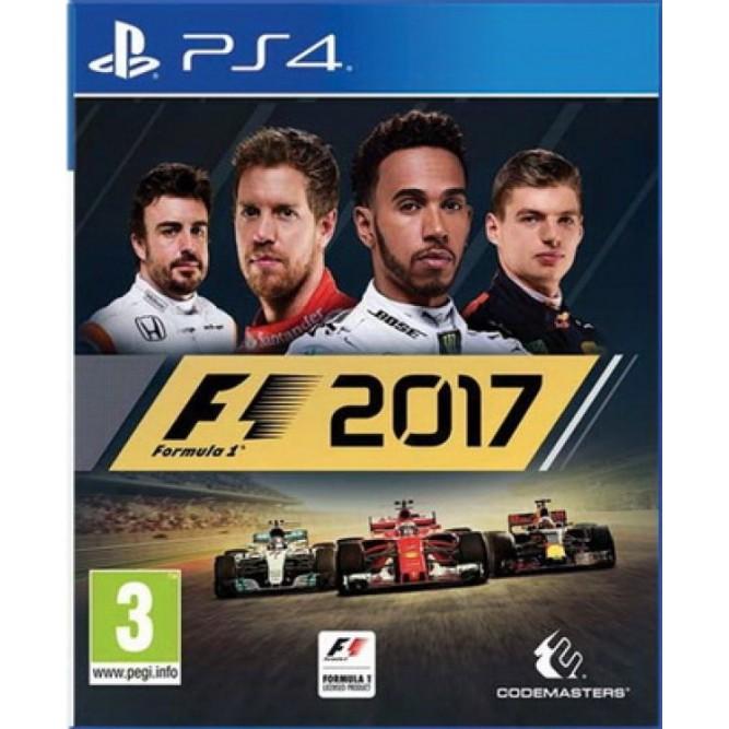 Игра F1 2017 (Formula One) (PS4) (rus) б/у