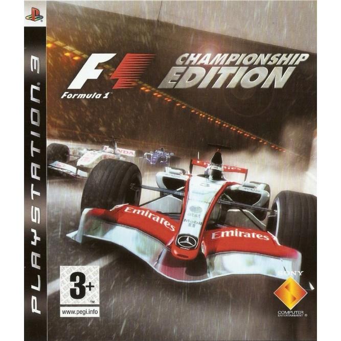 Игра Formula 1 Championship Edition (PS3) б/у