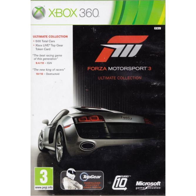 Игра Forza Motorsport 3. Ultimate Collection (Xbox 360) (rus sub) б/у