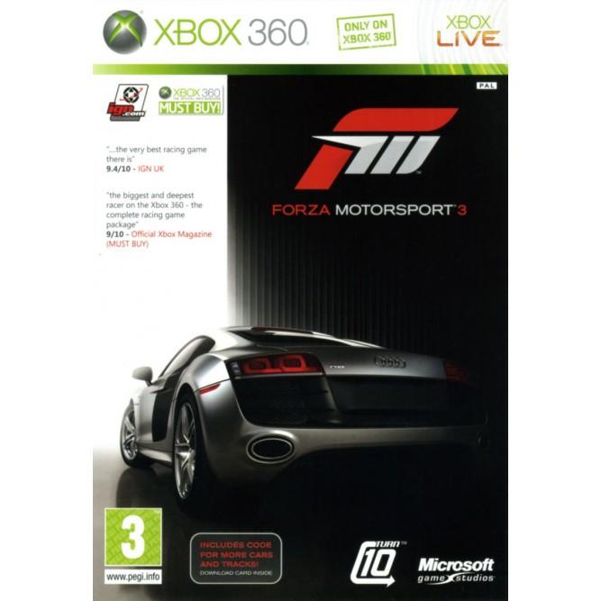 Игра Forza Motorsport 3 (Xbox 360) б/у
