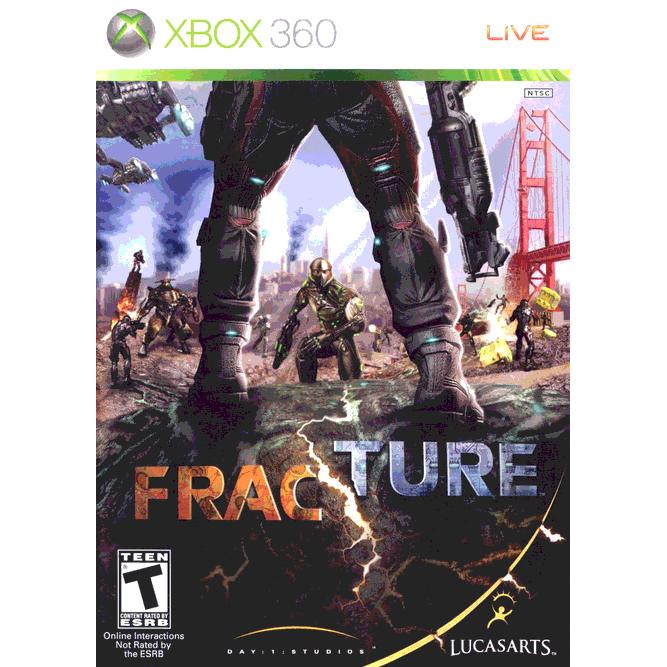 Игра Fracture (Xbox 360) б/у