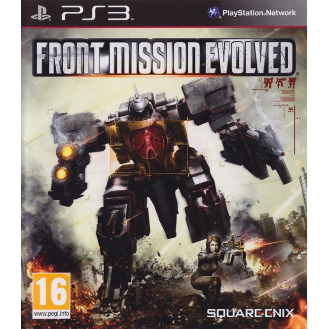 Игра Front Mission Evolved (PS3) (б/у)