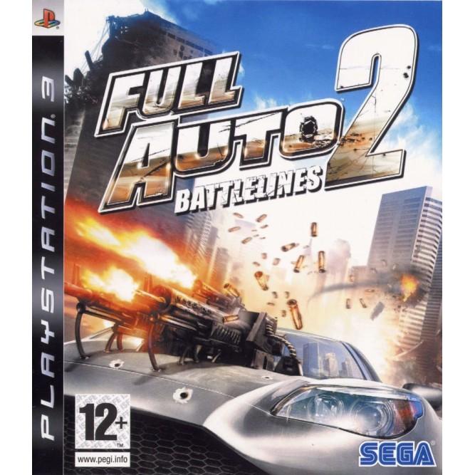 Игра Full Auto 2: Battlelines (PS3) б/у