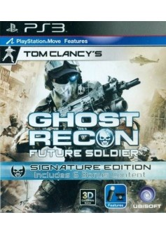Игра Tom Clancy's Ghost Recon: Future Soldier. Signature Edition (PS3)