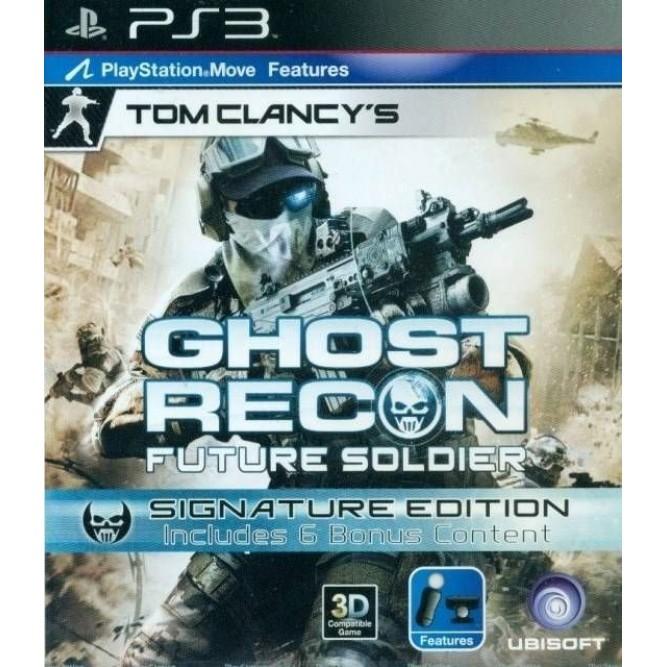 Игра Tom Clancy's Ghost Recon: Future Soldier. Signature Edition (PS3) б/у