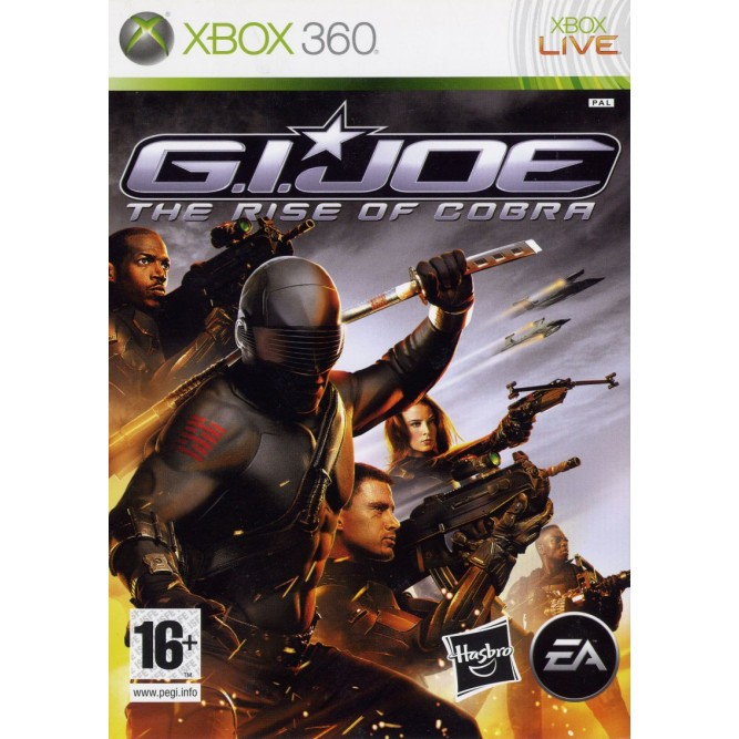 Игра G.I. Joe: The Rise of Cobra (Xbox 360) (eng) б/у
