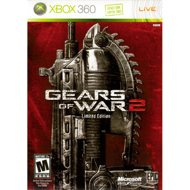 Игра Gears of War 2 (Limited Edition) (Xbox 360) б/у