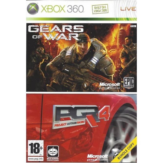 Игра Gears of War + PGR 4 (Xbox 360) б/у