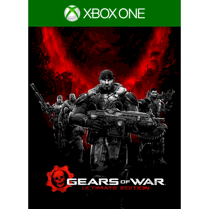 Игра Gears of War: Ultimate Edition (Xbox One) б/у