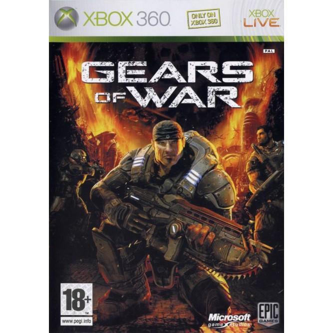 Игра Gears of War (Xbox 360) б/у