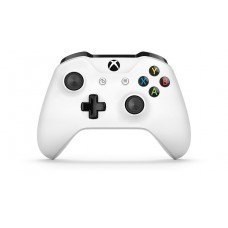 Геймпад Microsoft Controller for Xbox One S, белый (б/у)