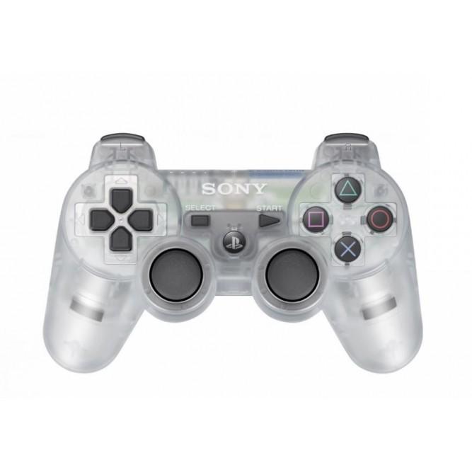 Геймпад Sony Dualshock 3, прозрачный (PS3)