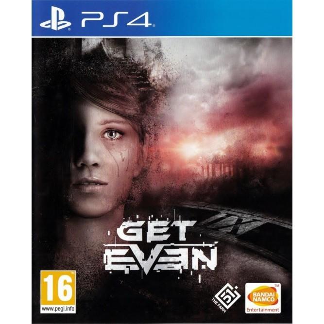 Игра Get Even (PS4) б/у (rus sub)