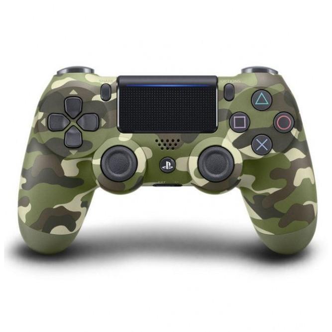 Геймпад Sony Dualshock 4 (PS4) V2 Зеленый камуфляж