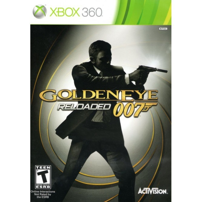 Игра GoldenEye 007: Reloaded (Xbox 360) б/у (eng)
