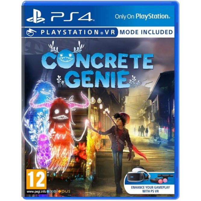 Игра Concrete Genie (с поддержкой PS VR) (PS4) (rus)
