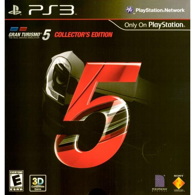 Игра Gran Turismo 5. Collector's Edition (PS3) б/у