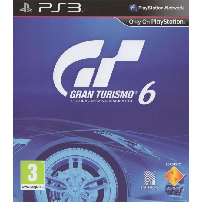 Игра Gran Turismo 6 (PS3) б/у
